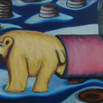 Tire Recycling Concept No. 8 (Polar Bears)